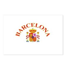 Barcelona, Spain Postcards (Package of 8)