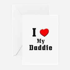 I Love Daddie Greeting Cards (Pk of 10)