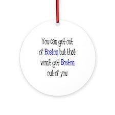 boston out Ornament (Round)