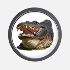 Unique Aligator Wall Clock
