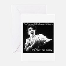 """It's Not That Scary"" Greeting Cards (Pk of 10"