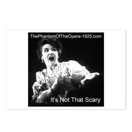 """It's Not That Scary"" Postcards (Package of 8)"