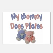 My Mommy Does Pilates Postcards (Package of 8)