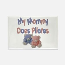 My Mommy Does Pilates Rectangle Magnet