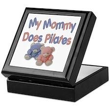 My Mommy Does Pilates Keepsake Box