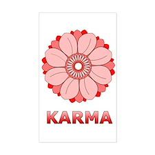 Lotus Sticker (Rect.)