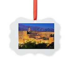 Alhambra palace, Granada, Spain Picture Ornament