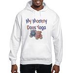 My Mommy Does Yoga Hooded Sweatshirt