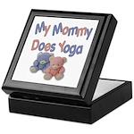 My Mommy Does Yoga Keepsake Box