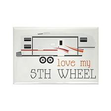 Love My 5th Wheel Magnets