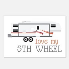 Love My 5th Wheel Postcards (Package of 8)