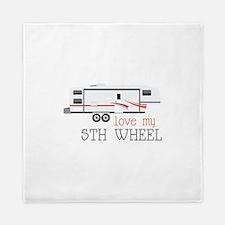 Love My 5th Wheel Queen Duvet