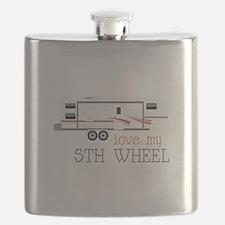 Love My 5th Wheel Flask
