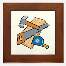 Carpenter Tools Framed Tile
