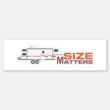 Size Matters Bumper Bumper Bumper Sticker