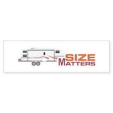 Size Matters Bumper Bumper Stickers
