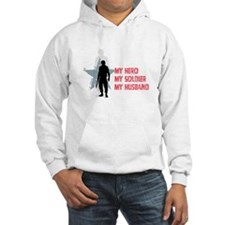 My Hero-Army Wife Hoodie