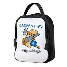 Nail the Job Neoprene Lunch Bag