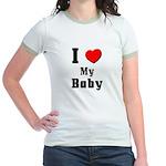 I Love Baby Jr. Ringer T-Shirt