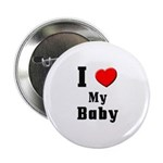 I Love Baby Button