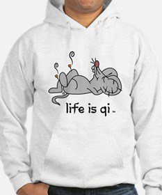Life is Qi Mouse Acupuncture Moxa Hoodie