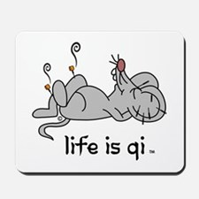 Life is Qi Mouse Acupuncture Moxa Mousepad