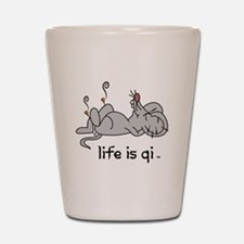 Life is Qi Mouse Acupuncture Moxa Shot Glass