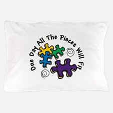All the Pieces Pillow Case