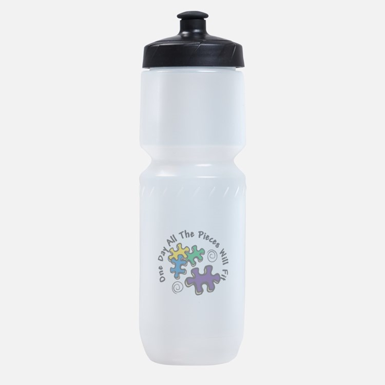 All the Pieces Sports Bottle
