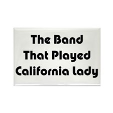 California Lady Rectangle Magnet (10 pack)