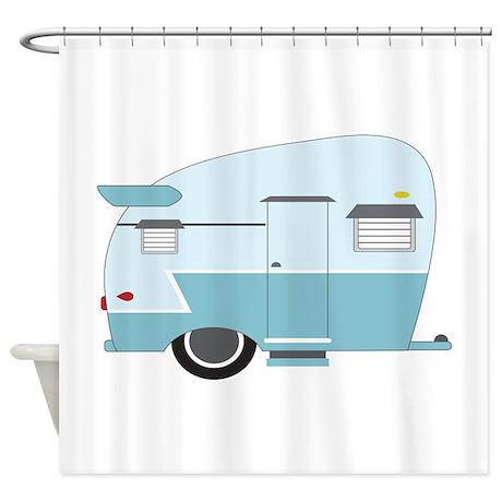 Camper Shower Curtain