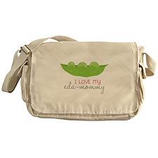 I Love My Eda-Mommy Messenger Bag
