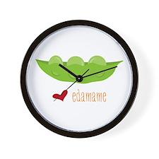 Love Edamame Wall Clock