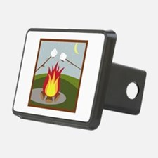 Roasting Marshmallows Hitch Cover