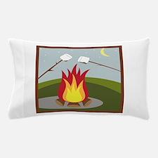 Roasting Marshmallows Pillow Case