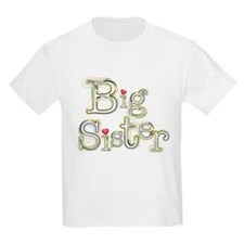 Big Sister Hearts T-Shirt