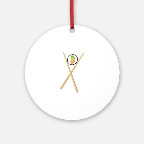 Sushi Ornament (Round)