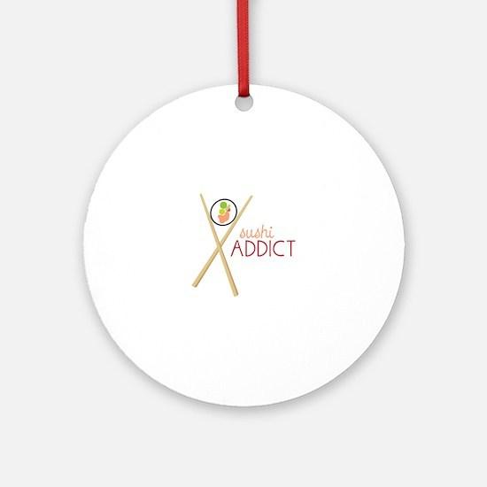 Sushi Addict Ornament (Round)