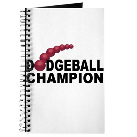 Dodgeball Champion Journal