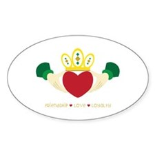 Friendship*Love*Loyalty Decal