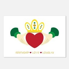Friendship*Love*Loyalty Postcards (Package of 8)