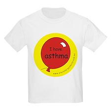 I have asthma-medical alert T-Shirt