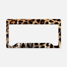 Leopard License Plate Holder