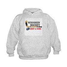 Wisconsin Hockey Hoodie