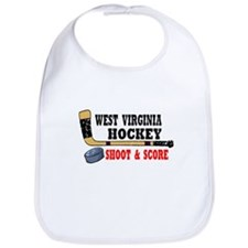 West Virginia Hockey Bib
