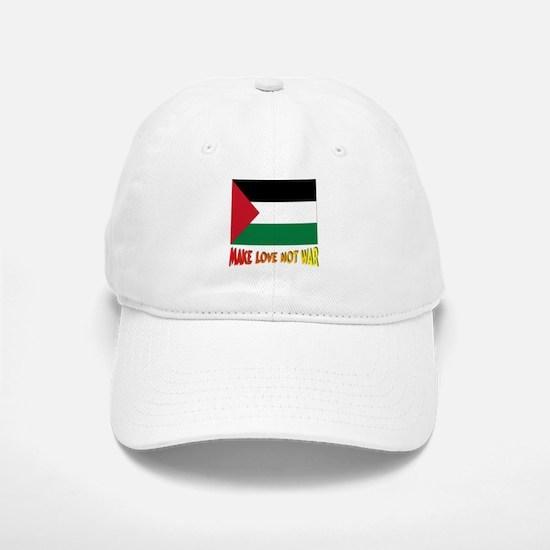 *** Palestine Make Love Not War Baseball Baseball Cap