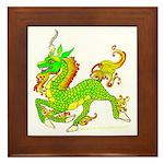Kirin / Ki'lin /Qilin Framed Tile