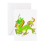 Kirin / Ki'lin /Qilin Greeting Cards (Pk of 10