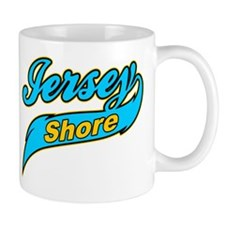 Jersey Shore Yellow Mug