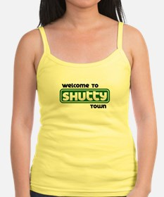 Welcome to Shutty Town Jr.Spaghetti Strap